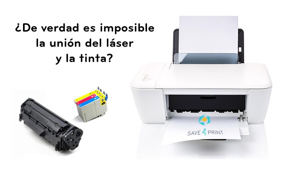 La unión 'imposible' del láser y la inyección de tinta